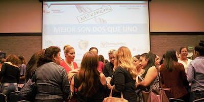 Mujeres Empresarias  y Emprendedoras  Networking  en la Feria Pymes