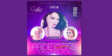 Pride Icons: Drag Brunch -Official Send Off For Miss Massachusetts Trans USA tickets