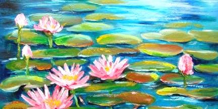 'Lotus Lake' Sip & Paint Workshop