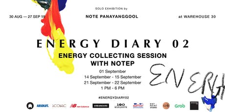 ENERGY COLLECTING SESSION WITH NOTEP tickets