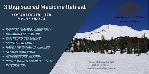 3-Day Sacred Medicine Retreat (Aya-huambisa, Bufo-Huasca, Kambo, and San Pedro)