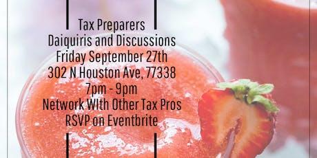 Tax Talk: Daiquiris & Discussions tickets