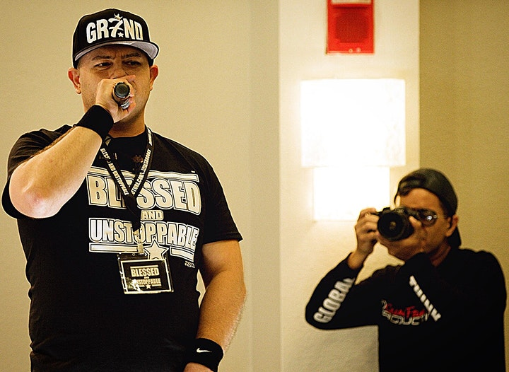 BLESSED AND UNSTOPPABLE: Dr. Billy Alsbrooks Motivational Seminar (CHICAGO) image