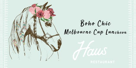 BOHO CHIC MELBOURNE CUP LUNCHEON HAHNDORF tickets