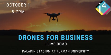 Drones for Business + Live Demo tickets