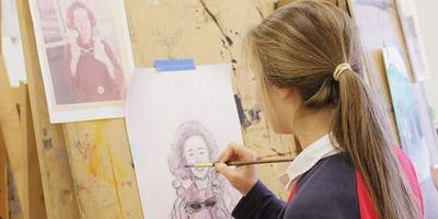 School Holidays - Mixed Media Drawing 9 - 12 years (1 October)