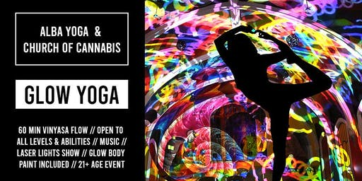 Halloween Glow Yoga with Alba Avella and Church of Cannabis // October 31