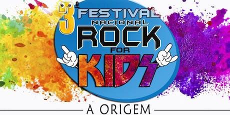 DESCONTO! 3° Festival Nacional de Rock For Kids no Teatro Alfa ingressos