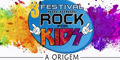 DESCONTO! 3° Festival Nacional de Rock For Kids no Teatro Alfa