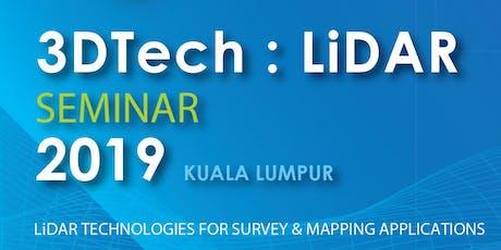 3DTech : LiDAR Seminar tickets