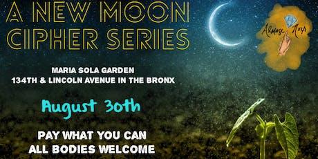 New Moon {in VIRGO} Cipher tickets