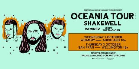 Shakewell & Ramirez – Auckland tickets