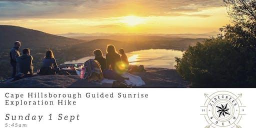 Sunrise at Cape Hillsborough Guided  Sunrise exporation hike