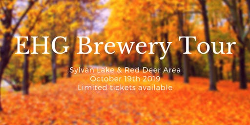 Red Deer and area Brewery Tour