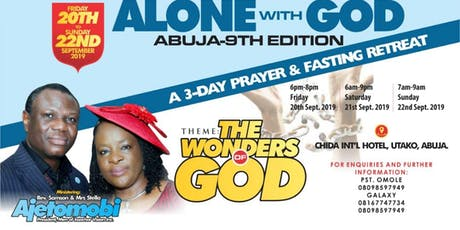 Alone With God Retreat tickets