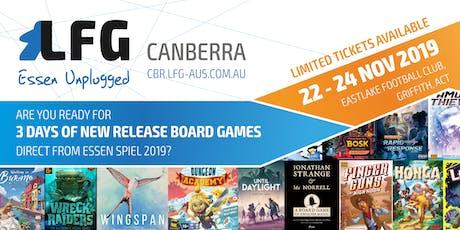 LFG Canberra: Essen Unplugged 2019 tickets