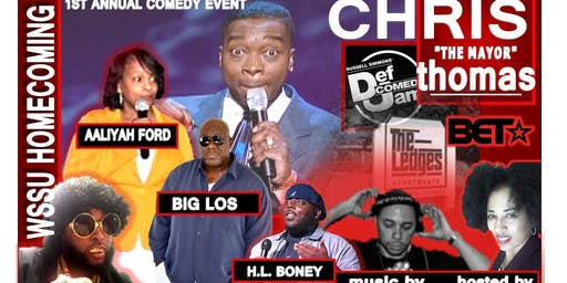 "WSSU Homecoming Comedy Show feat. Chris ""The Mayor"" Thomas"