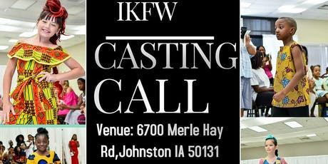 IKFW Casting Call tickets