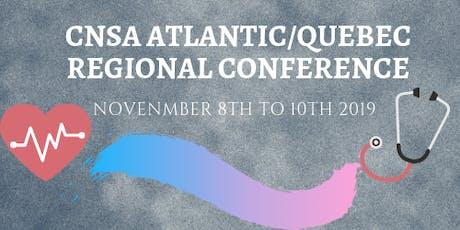 CNSA Atlantic/Quebec Regional Conference tickets
