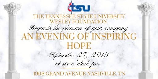 An Evening of Inspiring Hope