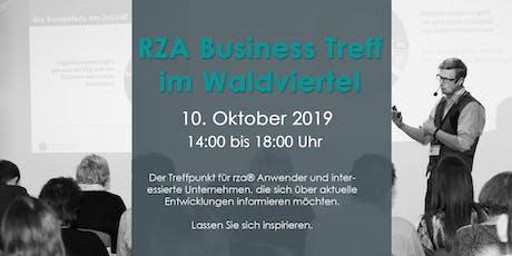 RZA Business Treff Tickets