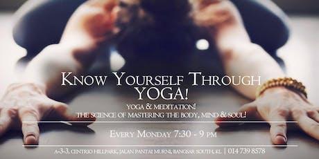 Soulful Mondays - Hatha Yoga & Meditation tickets