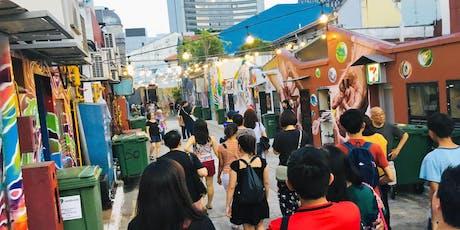 Kampong Gelam Heritage & Gelam Gallery Street Art Walk tickets
