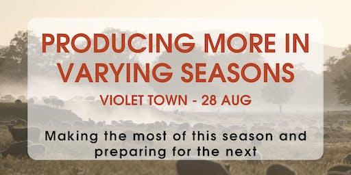 Producing More In Varying Seasons: Violet Town-Lyndon Kubeil & Jason Trompf