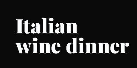 Italian Wine Dinner Night 2 tickets