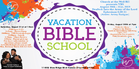The Well KC VBS (Vacation Bible School) tickets