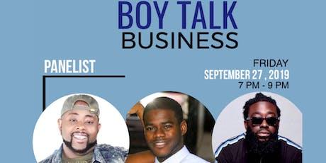 Boy Talk Business tickets