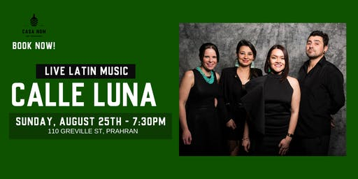 Calle Luna: Live Latin Music
