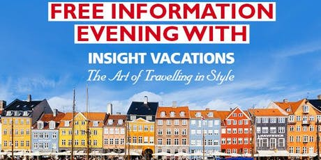 Europe Information Session with Insight Vacations hosted by Flight Centre tickets