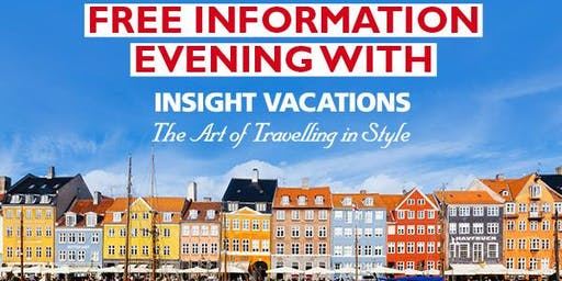 Europe Information Session with Insight Vacations hosted by Flight Centre