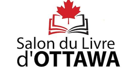 Salon du Livre d'Ottawa 2019 billets