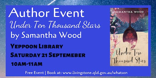 Author Event: Under Ten Thousand Stars by Samantha Wood