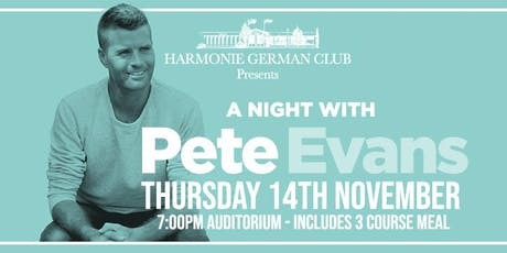 A Night with Pete Evans tickets