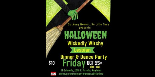 Wickedly Witchy Lesbian Halloween Party