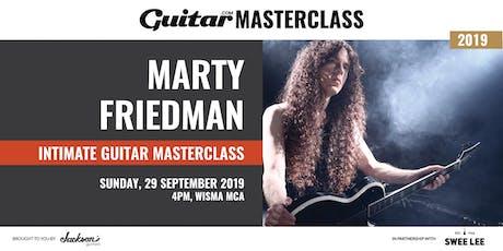Guitar.com Masterclass with Marty Friedman tickets