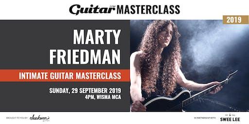 Guitar.com Masterclass with Marty Friedman