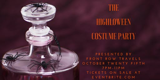 The HIGHloween Costume Party hosted by Front Row Travels®