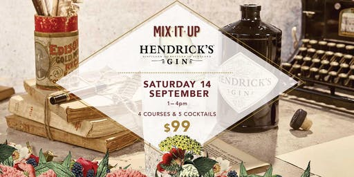 Mix It Up: Hendrick's Gin