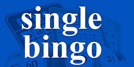 SINGLE BINGO SUNDAY FEBRUARY 23, 2020 tickets