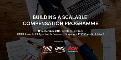 Building A Scalable Compensation Programme tickets
