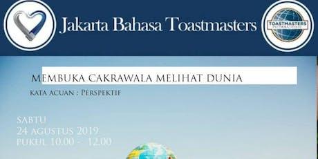 Berbicara dan Berbahagia - Jakarta Bahasa Toastmasters tickets