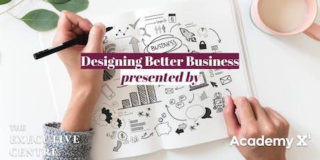 TEC SG   Designing a Better Business tickets
