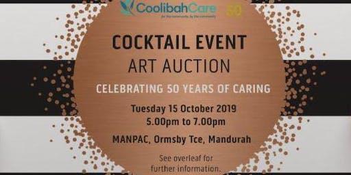 Coolibah Care - Art Auction Cocktail Event
