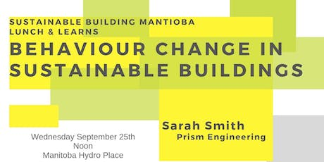 Behaviour Change in Sustainable Buildings tickets
