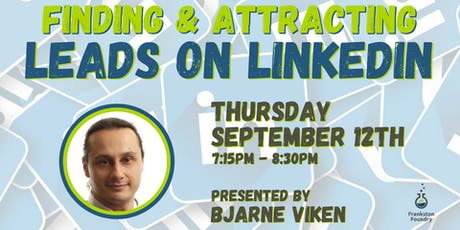Finding and Attracting Leads on LinkedIn tickets