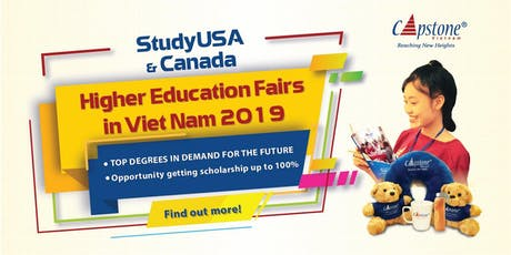 [Vungtau] Fall 2019 StudyUSA & Canada Higher Education Fairs tickets